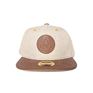 Assassin's Creed – Origins Cap / Kappe mit Leder-Logo