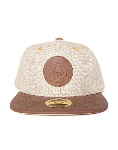 Assassin's Creed – Origins Cap / Kappe mit Leder-Logo