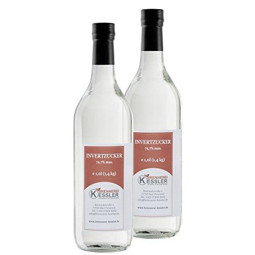 Invertzucker - Flüssigzucker 2 Liter (2,8kg) 72,7%mas.