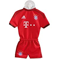 Mini Kit Home FC Bayern MÜNCHEN mit Saugnapf + gratis Sticker, Munich FCB