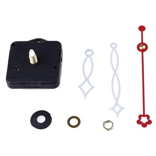 Galleria fotografica SODIAL(R) Movimento + Lancette Minuti Bianco Secondi Rosso Ricambi Orologio Accessori