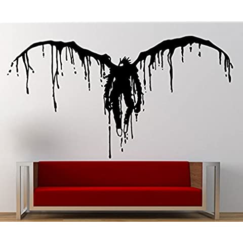 Adesivo da parete Death Note, Vinile, nero, Medium