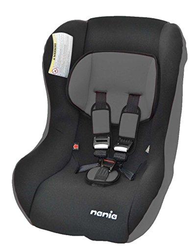 Nania, Seggiolino auto Trio SP Eco, 0 - 15 Kg, Nero (Eco black)
