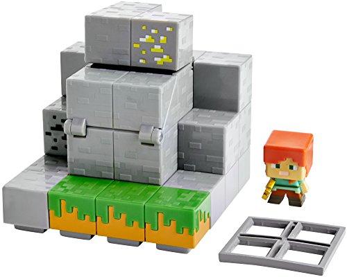 Minecraft Mini Figur Environment Set - Waterfall Wonder (Mini Minecraft)