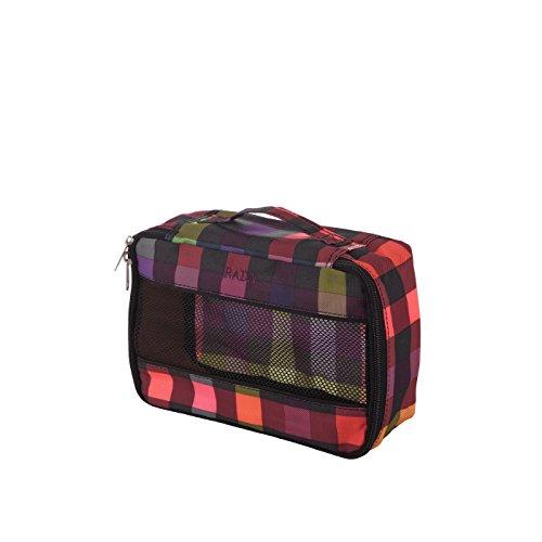 Rada Packhilfe CU/2 Kofferorganizer in verschiedenen Farben (schwarz) multicolor check
