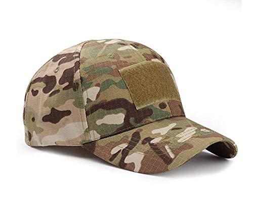 Baseballkappen Camo,Baseball Cap Camouflage Hut Unisex Damen Herren Baseball Kappen Multicam Style Caps für Jagd Angeln Camping Werden Sport (Ihr Baseball Eigenes Wie Sie)