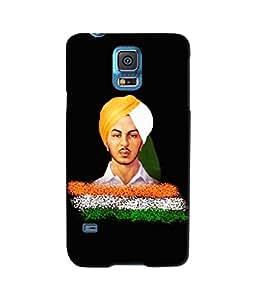 Sketchfab Bhagat Singh Latest Design High Quality Printed Soft Silicone Back Case Cover For Samsung Galaxy S5