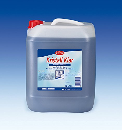#Kristall-Klar flüssig Glasreiniger , 1 x 10 Liter Kanister#