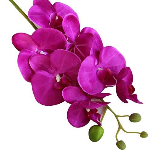 Regard L Silk künstliche Phalaenopsis-Orchideen-Blumen-Stamm-Blumenstrauß-Partei-Hausgarten-Dekor (Tisch Hochzeit Blumen-mittelstück)