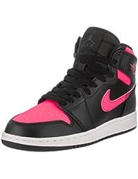 newest 8238f 727de Nike Air Jordan 1 Retro High GG - Black Black-Hyper pink-White