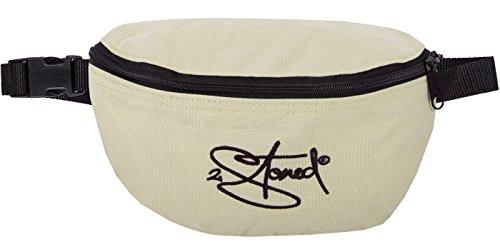2Stoned Hüfttasche mit Stick Classic Logo in Beige -