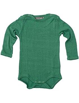 Unbekannt Alkena, Baby Body Langarm mit Schulterknöpfen, 100% Bouretteseide