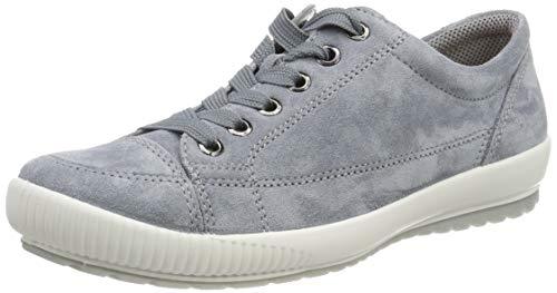 Legero Damen Tanaro Sneaker,Blau (Adria (Blue) 85) 40 EU (6.5 UK) (Leder Damen Schuhe Halbschuhe)