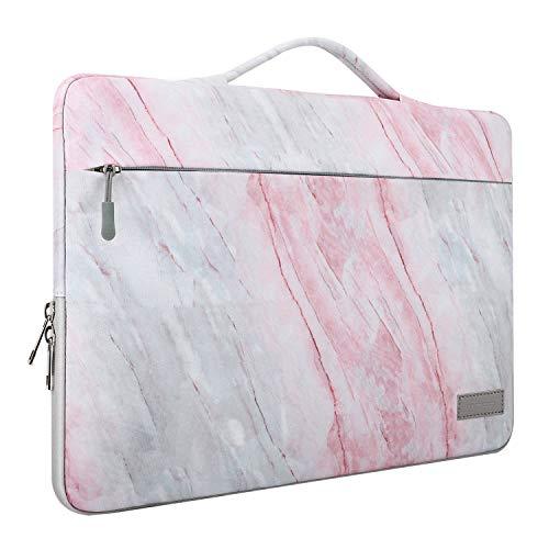 MoKo Laptop Tasche Sleeve Hülle für 15.6 Inch Laptop, Notebook Polyester Schutzhülle Ersatz für MacBook Pro Retina 15.4 inch, Microsoft Surface Book 2/1 15 Inch 2018/2017, 15.6