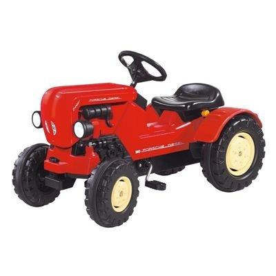 *Big 800056560 Porsche Diesel Junior Traktor, 88 x 46 x 54 cm, rot*