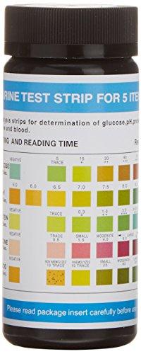 Dirui-5-Parameter-Professional-GP-Urinalysis-Multisticks-Urine-Strip-Pack-of-100