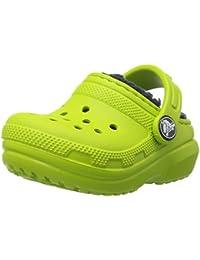Crocs Classic Lined Clog, Zuecos Unisex Niños