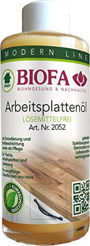 Arbeitsplattenöl Biofa, lösungsmittelfrei 150 ml