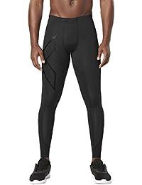 2x U Hombre Mens Elite MCS Compression Mallas [XFORM] Pantalón, todo el año, hombre, color Blk/Nro, tamaño S