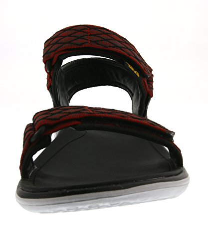 Teva Terra-float Universal M's, Sandales de sport homme Rouge - Rouge (554)
