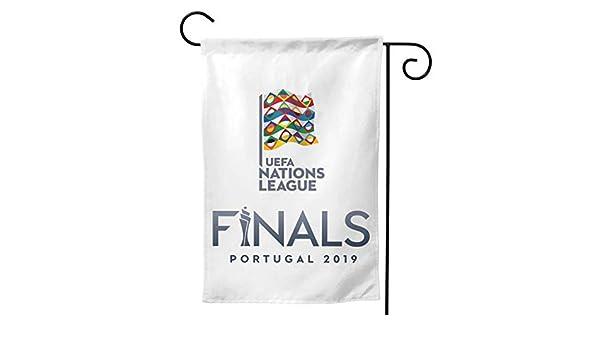 Maria Oro Uefa Nations League Garden Flag Double Sided Multi Code Amazon Co Uk Garden Outdoors