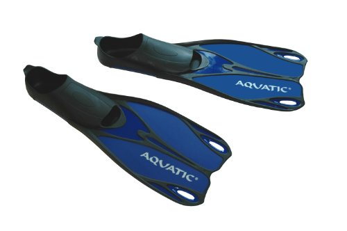 Aqua Speed Flossen - Profi Schwimmflossen - Taucherflossen - Perfekt Für Meer Und Pool - Sehr Leicht - #As Laguna, Blau, 40/41