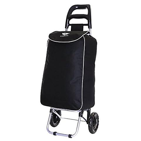 Slimbridge Victoria chariot de courses, Noir