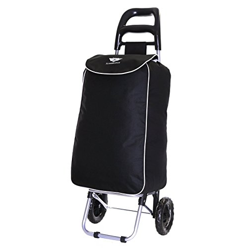 Slimbridge Victoria Shopping Trolley, Black