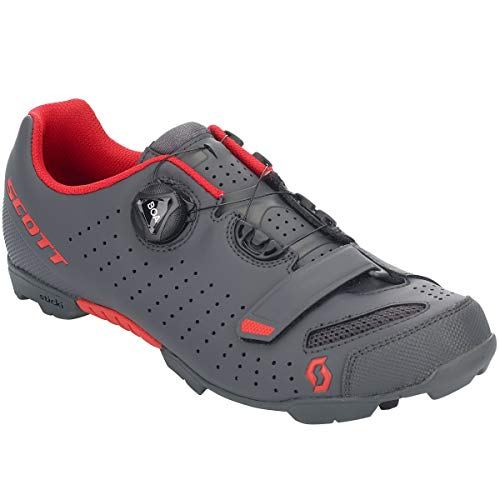 Scott MTB Comp Boa 2020 - Zapatillas para Bicicleta, Color Gris y Rojo, 42