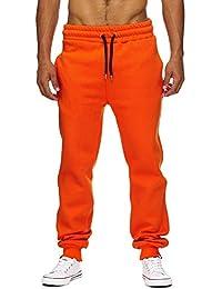 Tazzio - Pantalon de jogging homme Jogging 600 orange - Orange