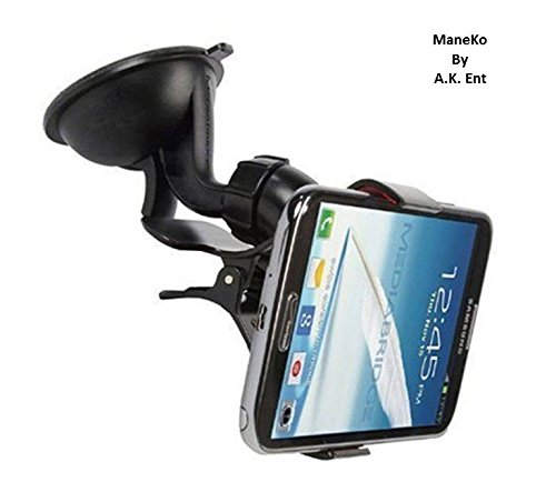 ManeKo Car Mount Cradle Holder Windshield Mobile / GPS Suction Holder Stand - Single Clip Type Car Mobile Holder for Maruti Suzuki Old Swift Dzire All Models & Types  available at amazon for Rs.134