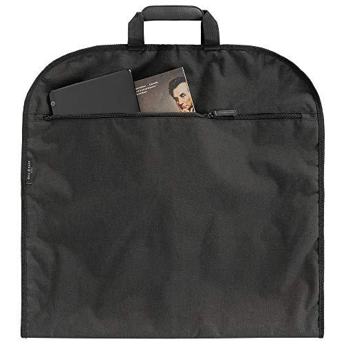 OTIS&ZANE® Hochwertiger Design Kleidersack Anzugtasche für bis zu 3 Anzüge - mit exklusivem Reise-Set als Geschenk - für Geschäftsreisen Flug Handgepäck - Anzughülle - grau/schwarz