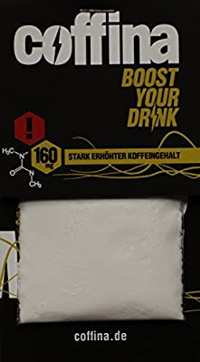 Coffina - Boost your Drink (800mg Koffein/160mg je Beutel) - 5er Pack