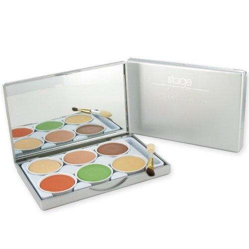 Palette professionnelle de correcteurs de teint, 6 couleurs