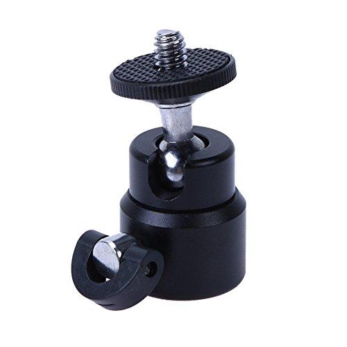demiawaking Mini Kamera drehbar Swivel Ball Kopf 360Grad drehbar Halter Mount Kugelkopf für DSLR-Kamera, Licht Ständer, Dslr-swivel Mounts