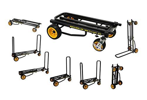 Rock-N-Roller R16RT (Max Wide) 8-in-1 Folding Multi-Cart/Hand