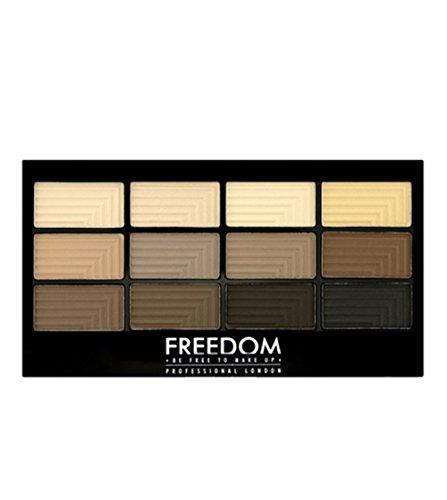 Freedom Makeup - Lidschatten Palette - Pro12 Audacious Mattes