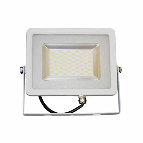 Projecteur LED Slim Blanc 10W Blanc Froid