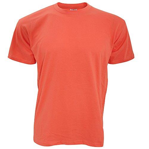 B&C Exact 150 T-Shirt für Männer Pixel Koralle