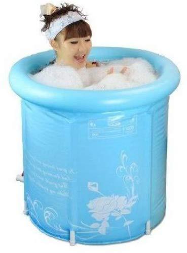 Bageek Opblaasbare badkuip, voor volwassenen, kunststof, superdik