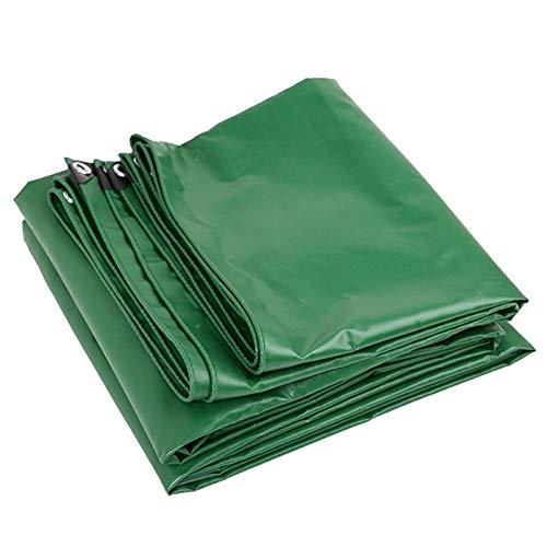 LSXIAO Abdeckplane Holz Sonnencreme 100{ab97debaf3bdf01de9761eb3aa9b0fd396afd2ab529237dbac847ae06a0b9594} Wasserdicht Staubschutzhaube Schwimmbadabdeckung Metallöse Campingzelt Im Freien, 9 Größen (Color : Green, Size : 5X6M)