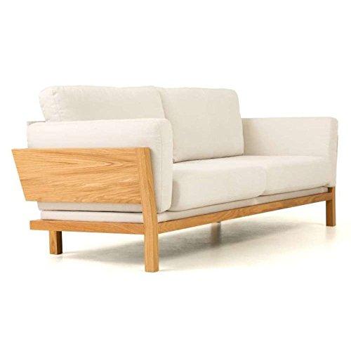 JUSThome-Lanza-Einzelsofa-Sofa-Couch-HxBxT-82x224x88-cm-Eiche-Beige