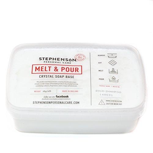 Base jabón Melt and Pour - Champú sólido SLS FREE