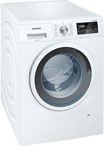 Siemens WM14N120 iQ300 Waschmaschine FL / A+++ / 157 kWh/Jahr / 1390 UpM / 7 kg / Weiß / Spezialprogramm für Sport- und Outdoor-Bekleidung / Imprägnier-Programm / Nachlegefunktion