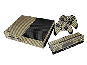 Xbox ONE Skin Sticker for console + 2 controllers + Kinect 2.0 – honeycomp pattern