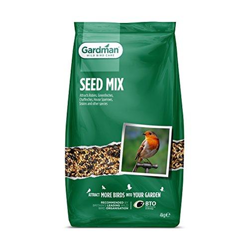 Gardman 07117 Mélange de Graines Beige 4 kg
