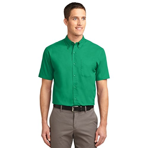 autorita-portuale-da-uomo-a-maniche-corte-di-facile-cura-camicia-court-green-small