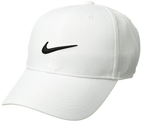 Nike 892651-100 Casquette réglable Mixte Adulte, Blanc/Anthracite/Noir, FR Fabricant : Taille...
