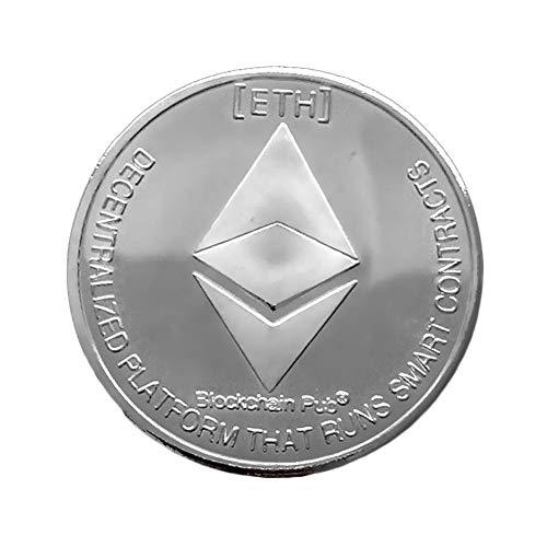 Sue-Supply Physische Ethereum-Münze Mit 24-Karat-Gold-Gedenkmünze Aus Ethereum, Die Für Geschäftsdekoration-Geschenke Verwendet Wird
