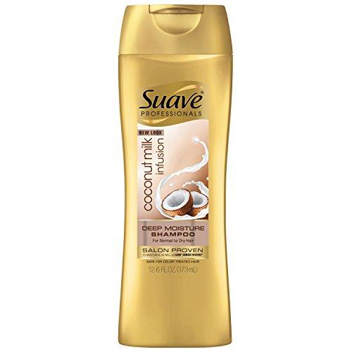 Suave Professionals Coconut Milk Infusion Deep Moisture Shampoo, 12.6 fl oz
